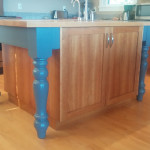 Kitchen island Bainbridge Island